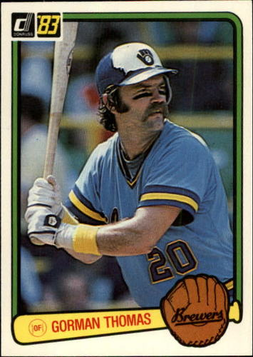Photo of 1983 Donruss #510 Gorman Thomas
