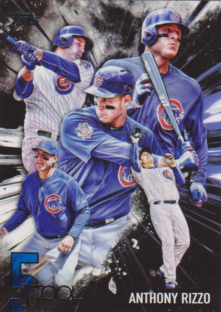 2017 Topps Five Tool #5T3 Anthony Rizzo