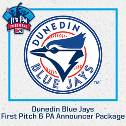 Photo of Dunedin Blue Jays First Pitch & PA Announcer Package