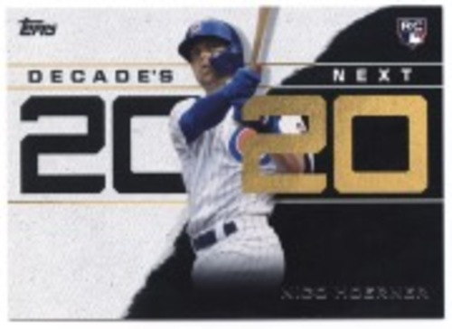 Photo of 2020 Topps Decade's Next #DN22 Nico Hoerner