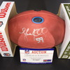 Panthers - Luke Kuechly Signed Authentic Football with 100 Seasons and Panthers Logo
