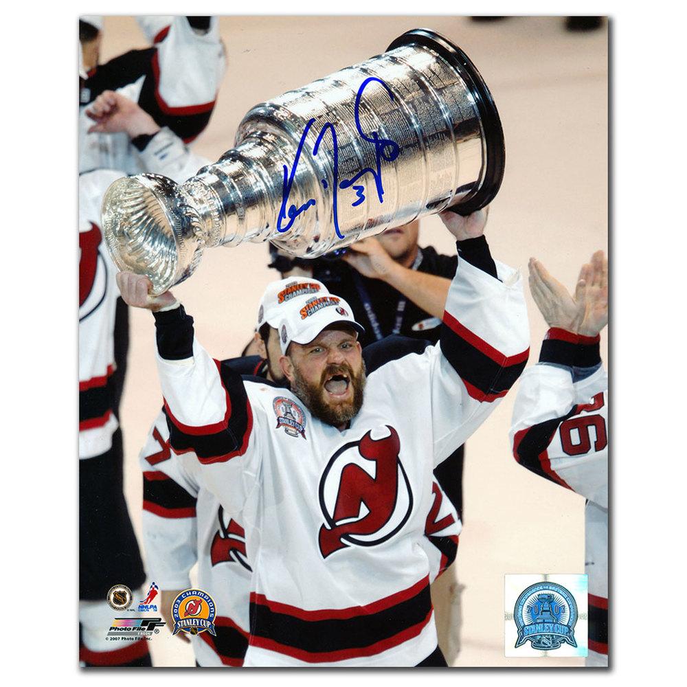 Ken Daneyko New Jersey Devils 2003 Stanley Cup Autographed 8x10