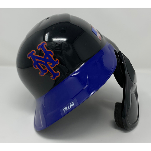 Photo of Kevin Pillar #11 - Game Used Batting Helmet with American Flag Decal - 20th Anniversary Ceremony of 9/11/2001 - 2-5, 2 RBI's and 1 Run Scored - Mets vs. Yankees - 9/11/21