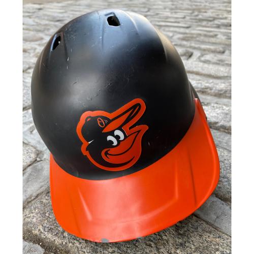 Photo of Austin Hays: Batting Helmet - Team Issued