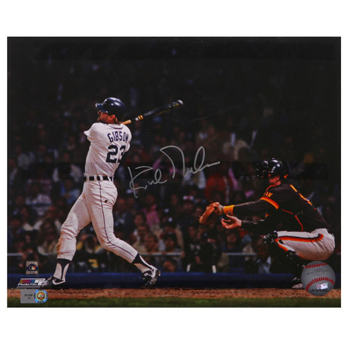 Photo of Detroit Tigers Kirk Gibson Autographed 8x10 Photo
