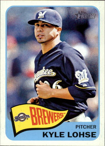 Photo of 2014 Topps Heritage #25 Kyle Lohse