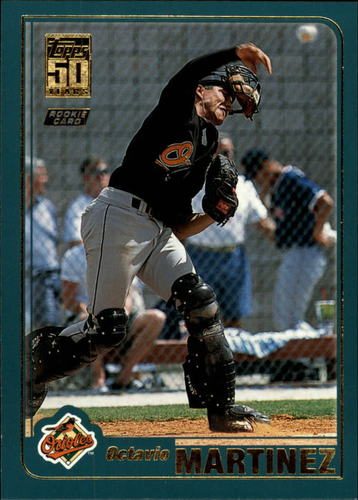 Photo of 2001 Topps Traded #T230 Octavio Martinez RC