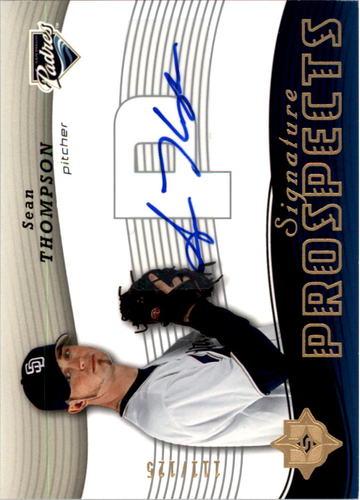 Photo of 2005 Ultimate Signature #177 Sean Thompson AU RC