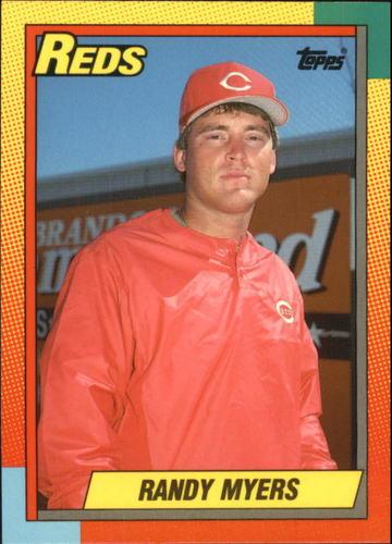 Photo of 1990 Topps Traded Tiffany #78T Randy Myers