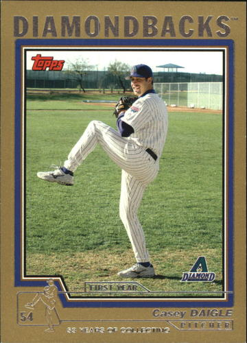 Photo of 2004 Topps Traded Gold #T139 Casey Daigle FY