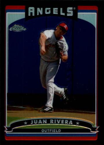 Photo of 2006 Topps Chrome Black Refractors #237 Juan Rivera