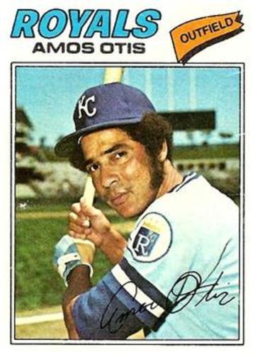 Photo of 1977 Topps #290 Amos Otis