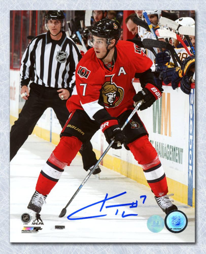 Kyle Turris Ottawa Senators Autographed Hockey 8x10 Photo