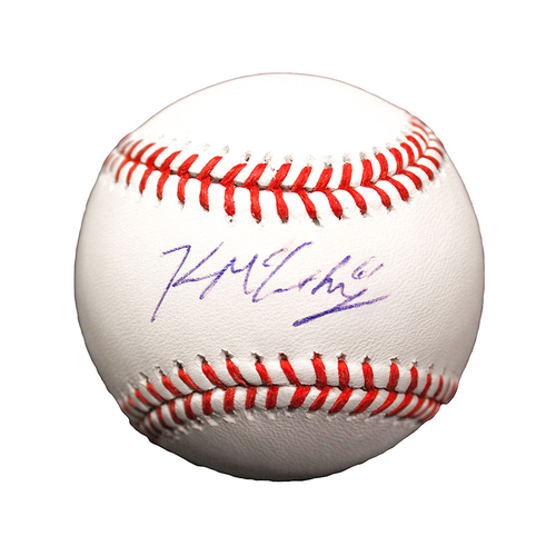 Photo of Kevin McCarthy Autographed Baseball