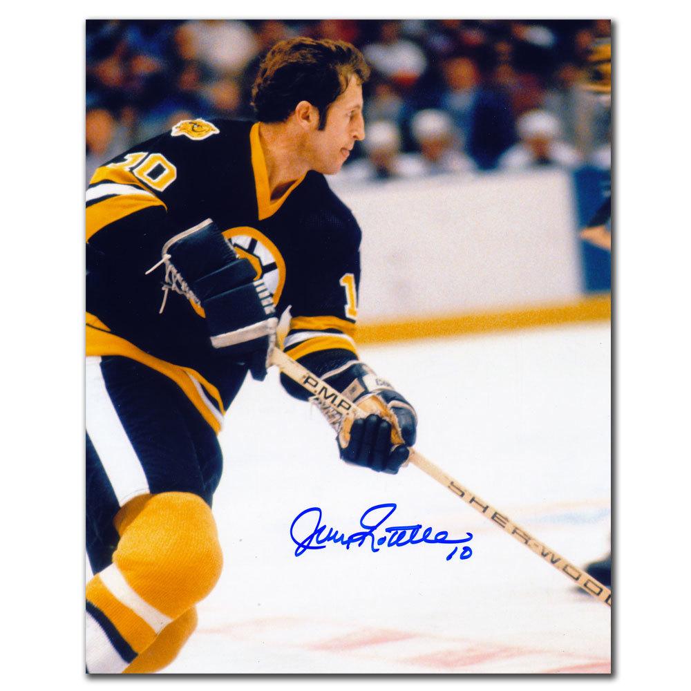 Jean Ratelle Boston Bruins RUSH Autographed 8x10