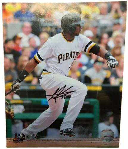 Photo of Gregory Polanco Autographed 8 x 10 Photo