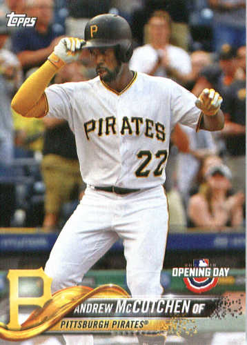 Photo of 2018 Topps Opening Day #83 Andrew McCutchen