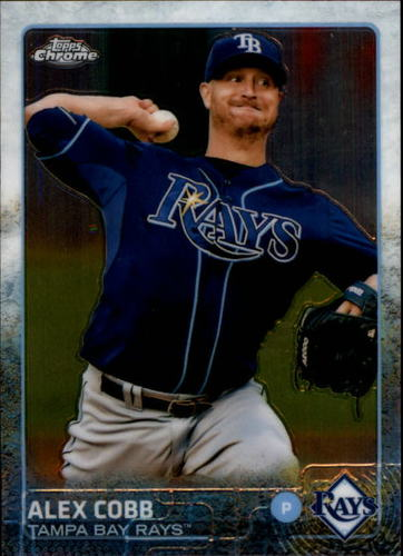 Photo of 2015 Topps Chrome #33 Alex Cobb