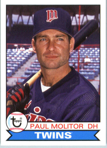 Photo of 2016 Topps Archives #127 Paul Molitor