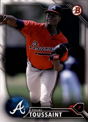 Photo of 2016 Bowman Draft #BD177 Touki Toussaint