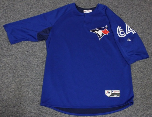 Photo of Authenticated Team Issued Batting Practice Jersey - #64 Murphy Smith. Size XL.