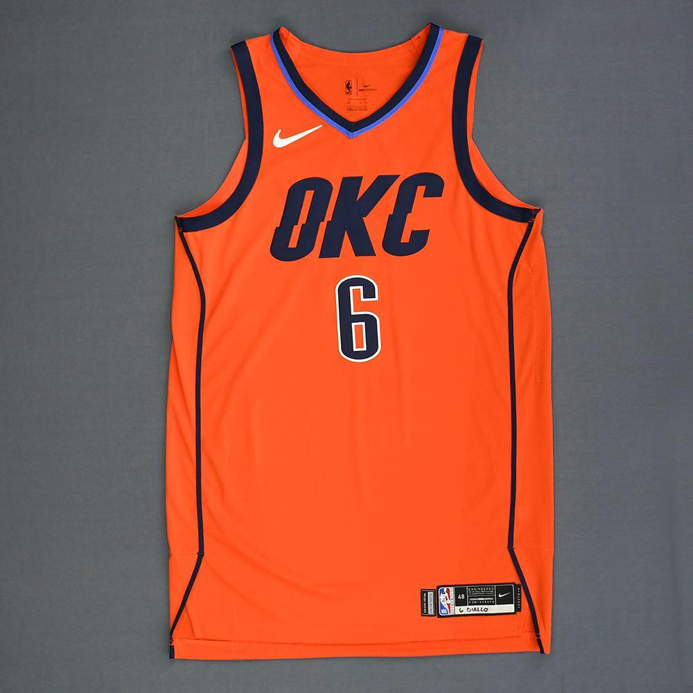 Hamidou Diallo - Oklahoma City Thunder - Game-Worn Earned Statement Edition Jersey - 2018-19 Season