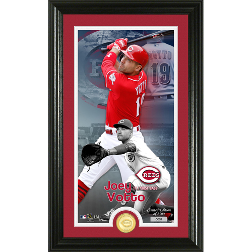 Photo of Joey Votto Supreme Bronze Coin Photo Mint