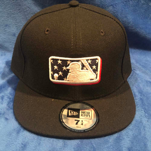 Photo of UMPS CARE AUCTION: MLB Specialty Stars Umpire Plate Cap, Size 7 1/4