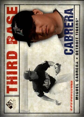 Photo of 2008 SP Legendary Cuts #65 Miguel Cabrera