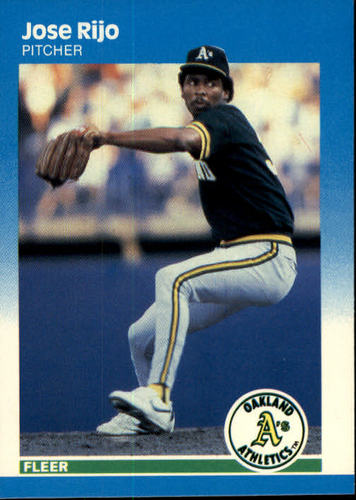 Photo of 1987 Fleer #404 Jose Rijo