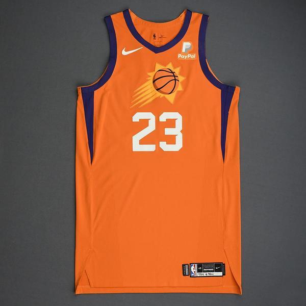 Image of Cameron Johnson - Phoenix Suns - Game-Issued Statement Edition Jersey - 2019-20 Season