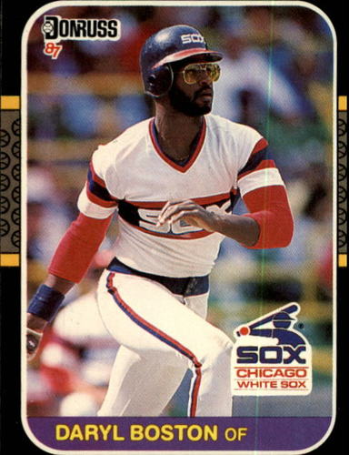Photo of 1987 Donruss #137 Daryl Boston