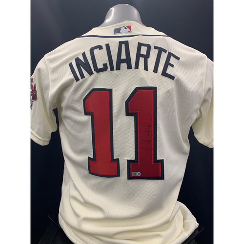 Photo of Ender Inciarte Autographed Jersey