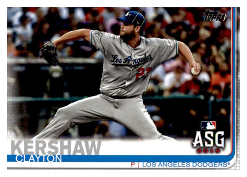 Photo of 2019 Topps Update #US284 Clayton Kershaw AS