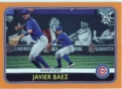 Photo of 2020 Topps Big League Orange #93 Javier Baez