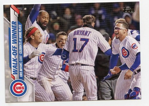 Photo of 2020 Topps #469 Walk-Off Winner/Kris Bryant