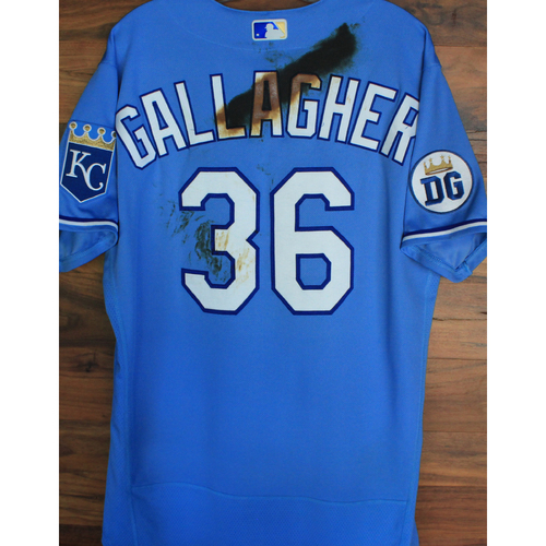 Photo of Alex's Lemonade Stand Foundation: Game-Used Cam Gallagher Jersey (Size 46 - 9/26/20 DET @ KC)