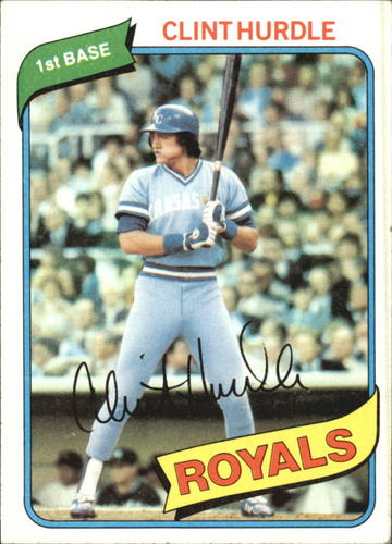 Photo of 1980 Topps #525 Clint Hurdle