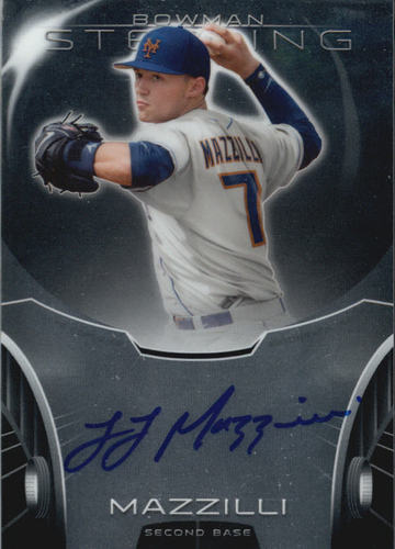 Photo of 2013 Bowman Sterling Prospect Autographs #LM L.J. Mazzilli