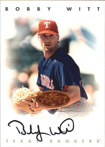Photo of 1996 Leaf Signature Autographs #248 Bobby Witt