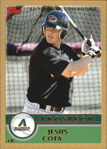 Photo of 2003 Topps Traded Gold #T138 Jesus Cota PROS