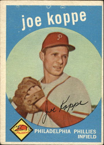 Photo of 1959 Topps #517 Joe Koppe RC