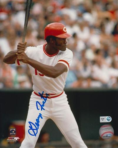 Photo of George Foster Autographed 8x10