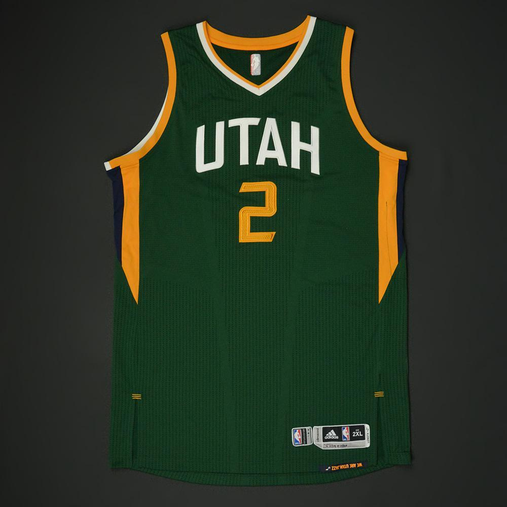 meet a44b3 5428a Joe Ingles - Utah Jazz - New Alternate Game-Worn Jersey ...