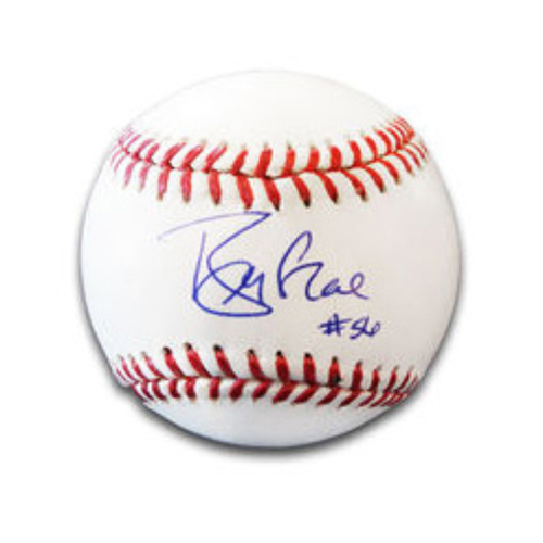 Brian McRae Autographed Baseball