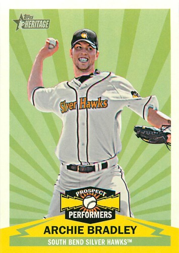 Photo of 2012 Topps Heritage Minors Prospect Performer Archie Bradley
