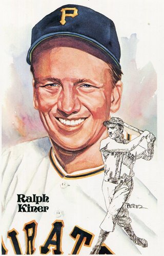 Photo of 1980-02 Perez-Steele Hall of Fame Postcards #151 Ralph Kiner -- HOF Class of 1975