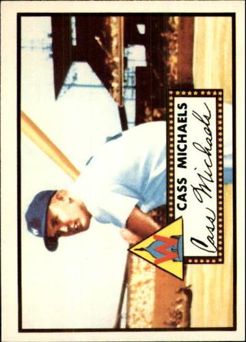 Photo of 1983 Topps 1952 Reprint #178 Cass Michaels