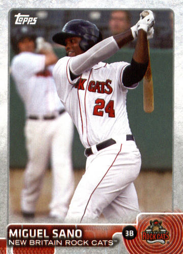 Photo of 2015 Topps Pro Debut #160 Miguel Sano