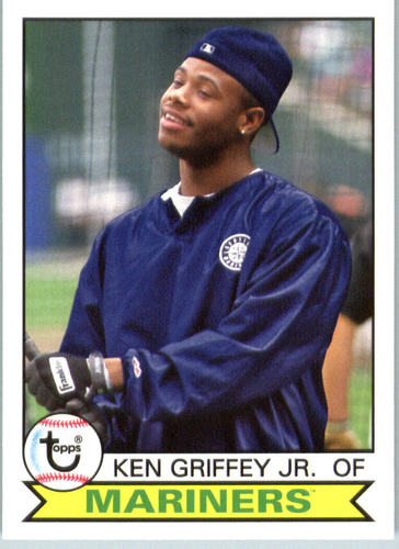 Photo of 2016 Topps Archives #128 Ken Griffey Jr.